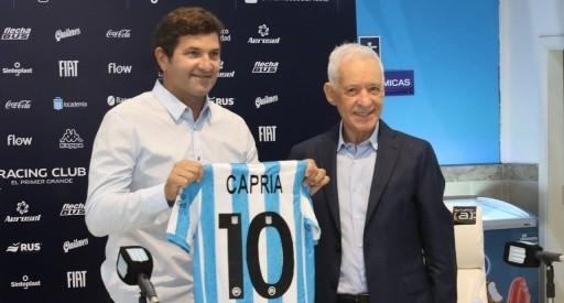 Capria es el nuevo manager de Racing