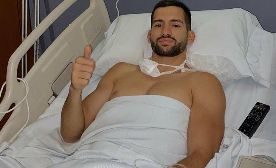 Garré fue operado con éxito