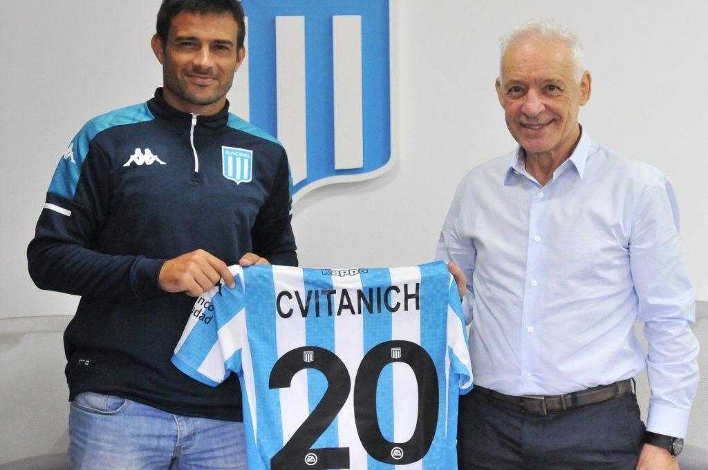 Cvitanich renovó su contrato con Racing