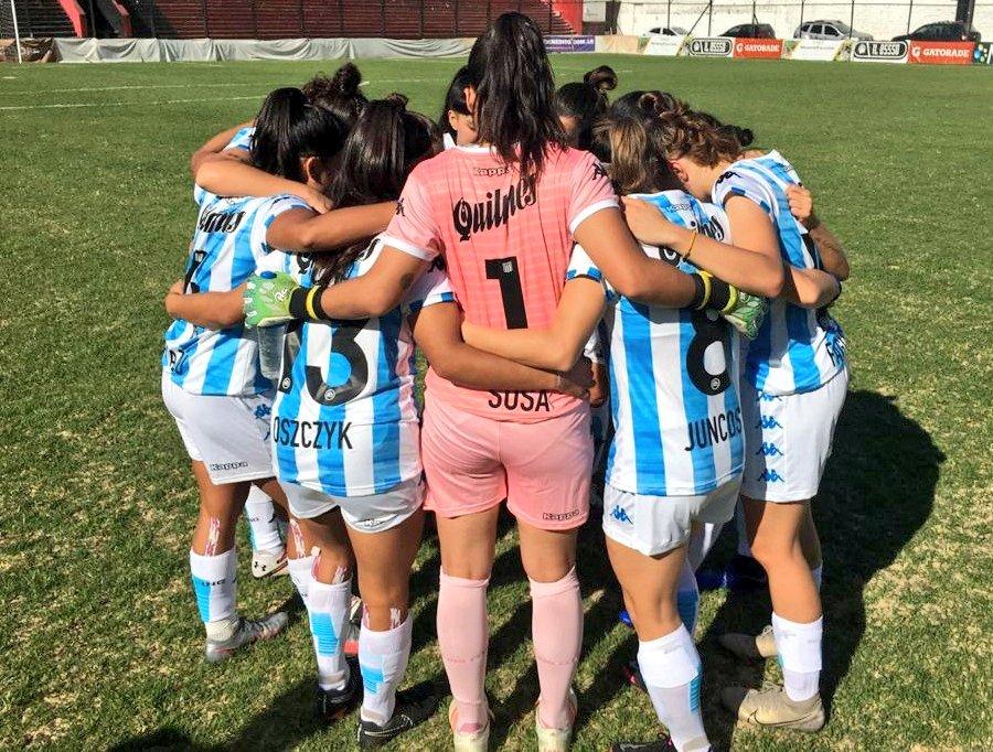Fútbol Femenino: Sumó un punto