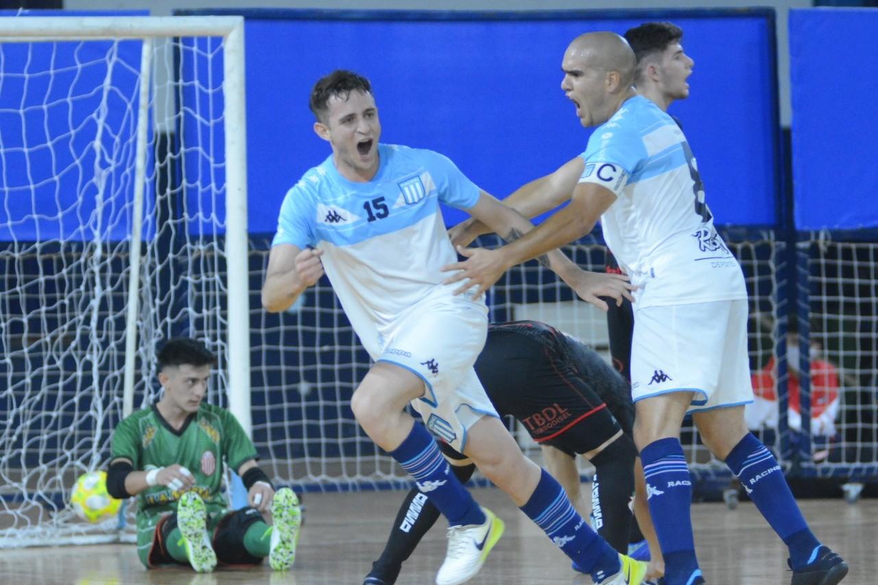 Futsal masculino: La suerte ayudó a Barracas