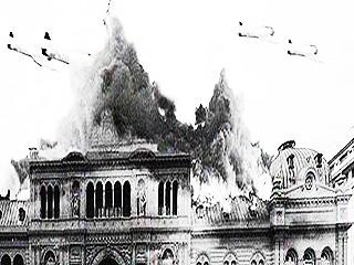 Racing, Perón, el bombardeo y la prohibición