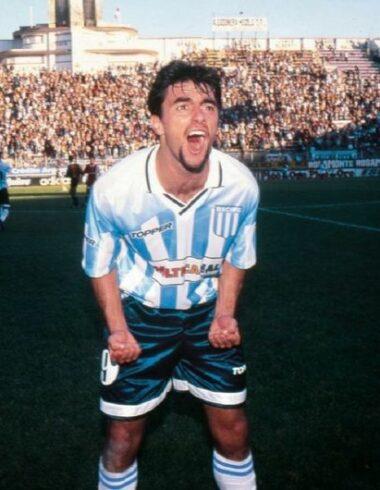 Claudio López, la carta goleadora