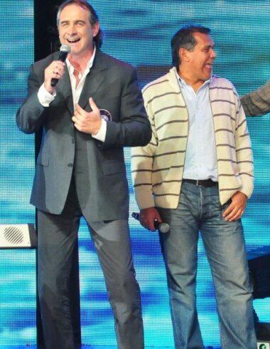 Walter Fernández, el cantor del campeón