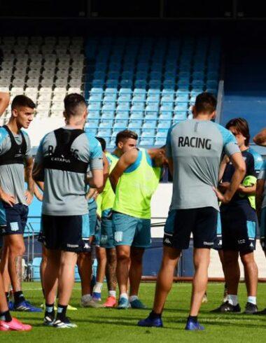 Racing arrancó la semana con la mira en Independiente