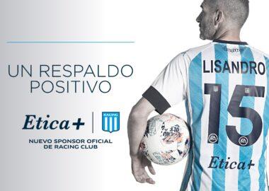 El fútbol profesional de Racing tiene nuevo sponsor